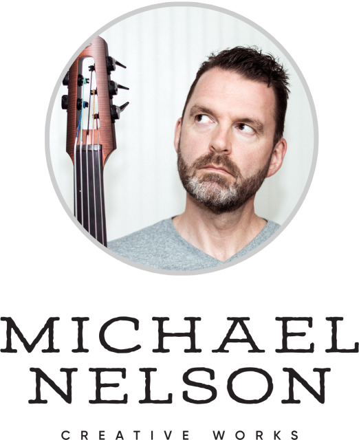 Photo of Michael Nelson, musician based in the Finger Lakes / Greater Rochester region of New York